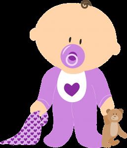 תינוק מצויר