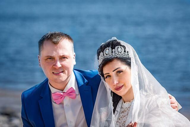 זוג שהתחתן