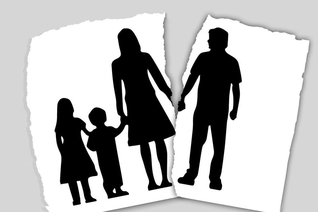 הורים גרושים עם ילדים